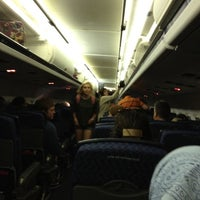 Photo taken at On the plane and in the air! by Ember N. on 4/8/2012