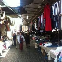 Photo taken at Mercato di Via Sannio by Gabriella G. on 3/17/2012