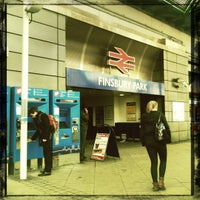 Photo taken at Finsbury Park Railway Station (FPK) by John K. on 2/14/2012
