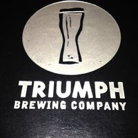 Photo taken at Triumph Brewing Company by Michael O. on 4/25/2012