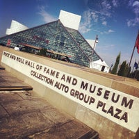 Photo taken at Rock & Roll Hall of Fame by Ryan A. on 8/3/2012