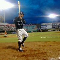 Photo taken at Estadio de Beisbol Eduardo Vasconcelos by Meju B. on 7/20/2012