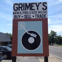 Photo taken at Grimey's New & Preloved Music by Alessandra on 7/25/2012