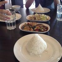 Photo taken at Pormtip Thai Restaurant by Stewart T. on 6/28/2012