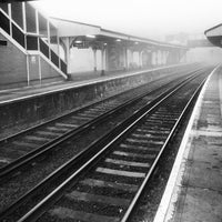 Photo taken at Fratton Railway Station (FTN) by Lee S. on 3/15/2012