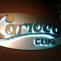 Photo taken at Carioca Club by Clayton M. on 8/13/2012