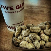 Photo taken at Five Guys by Jeremy T. on 5/18/2012