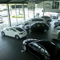 Photo taken at Audi Center by Autofinanciamiento México on 8/6/2012