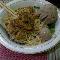 Photo taken at Bakso Langen Sari by Wenda W. on 3/26/2012