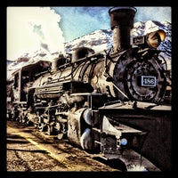 Photo taken at Durango & Silverton Narrow Gauge Railroad Co. by Leanna K. on 2/16/2012