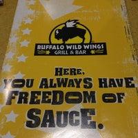 Photo taken at Buffalo Wild Wings by Sheri-Lynne D. on 4/12/2012