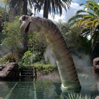 Photo taken at Jurassic Park The Ride by Nadia W. on 4/14/2012