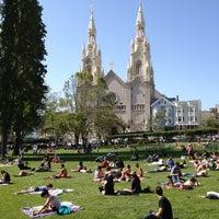 Photo taken at Washington Square Park by Dylan C. on 4/28/2012