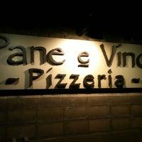 Photo taken at Pane e Víno Pizzeria by Sandra D. on 2/26/2012