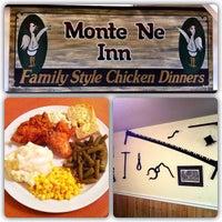 Photo taken at Monte Ne Inn Chicken by Brian H. on 7/25/2012