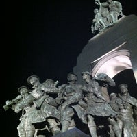 Photo taken at Cenotaph and Tomb of the Unknown Soldier by Isabel M. on 8/28/2012
