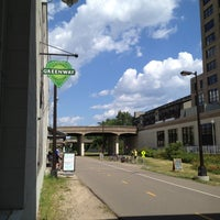 Photo taken at The Midtown Greenway by Amy B. on 7/8/2012