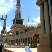 Photo taken at Masjid Islamic Centre by Krisna R. on 8/27/2012