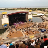 Photo taken at Nikon at Jones Beach Theater by Matthew C. on 8/19/2012