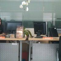 Photo taken at Bank BTPN by Ǻrdityo Đ. on 4/17/2012