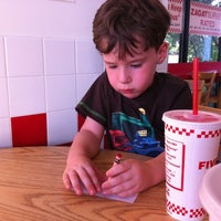 Photo taken at Five Guys by Michael B. on 6/29/2012