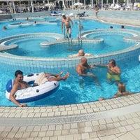 Photo taken at Hotel Habakuk Maribor by Zoran T. on 8/18/2012