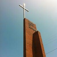 Photo taken at Village Church by Carol 'Red E. on 7/23/2012