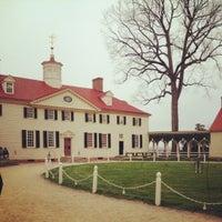 Photo taken at George Washington's Mount Vernon by Rachel P. on 3/22/2012