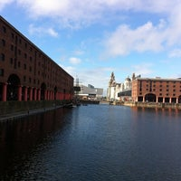 Photo taken at Albert Dock by Mark E. on 9/2/2012