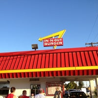 Photo taken at In-N-Out Burger by Ryan M. on 7/16/2012