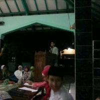 Photo taken at masjid al-ikhlas plamongan elok by Bayu A. on 9/7/2012