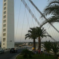 Photo taken at Puente Del Bimilenario by Rubén D. on 8/13/2012
