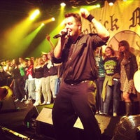 Photo taken at Vicar Street by Daniel J. on 2/10/2012