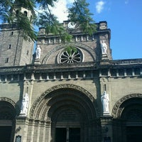 Photo taken at Cathedral-Basilica of the Immaculate Conception of Manila (Manila Cathedral) by Michael Allan C. on 3/3/2012