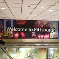 Photo taken at Pittsburgh International Airport (PIT) by Jamie B. on 4/30/2012