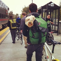 Photo taken at California Ave Caltrain Station by Anna R. on 3/29/2012