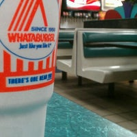 Photo taken at Whataburger by Roberto A. on 8/19/2012