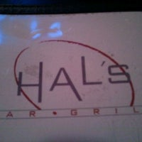 Photo taken at Hal's Bar & Grill by Ken P. on 3/5/2012