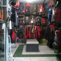 Photo taken at Hijjau adventure shop by Deny H. on 6/7/2012