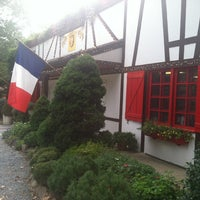 Photo taken at L'Auberge Chez Francois by Lisa T. on 8/24/2012