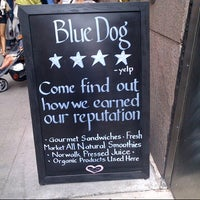 Photo taken at Blue Dog Cafe by Yousef A. on 9/7/2012