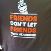 Photo taken at Dunkin' Donuts by Meg L. on 3/17/2012