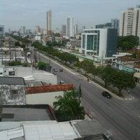 Photo taken at Avenida João Paulo II by LC R. on 7/18/2012