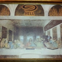 Photo taken at Hell Pizza by Ken M. on 6/12/2012