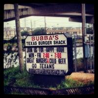 Photo taken at Bubba's Texas Burger Shack by MoiseKapenda B. on 9/12/2012