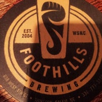 Photo taken at Foothills Brewing by Brian C. on 5/27/2012