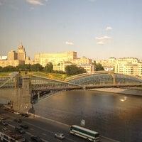 Photo taken at Radisson Slavyanskaya by Radik A. on 7/4/2012