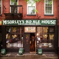 Photo taken at McSorley's Old Ale House by viskomenopatof on 5/3/2012