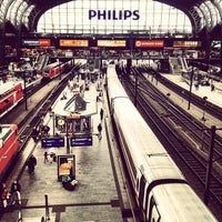 Photo taken at Hamburg Central Station by Marco K. on 7/21/2012