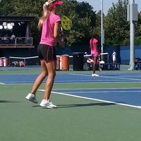 Photo taken at Practice Courts (1-5) - USTA Billie Jean King National Tennis Center by Michael R. on 9/1/2012